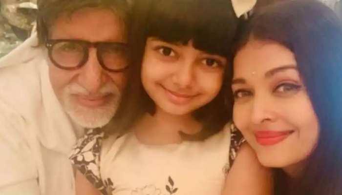पोती आराध्या ने अमिताभ बच्चन को दिया स्पेशल Birthday मैसेज, SEE INSIDE PICS