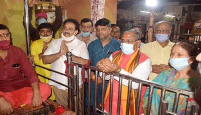 बिहार विधानसभा चुनाव 2020 : नंदकिशोर यादव ने 7वीं बार पटना साहिब से भरा पर्चा, कहा...