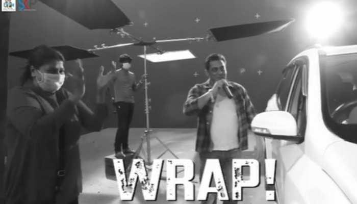 सलमान खान ने पूरी की 'राधे' की शूटिंग, वीडियो शेयर कर कहा- 'It's A Wrap'
