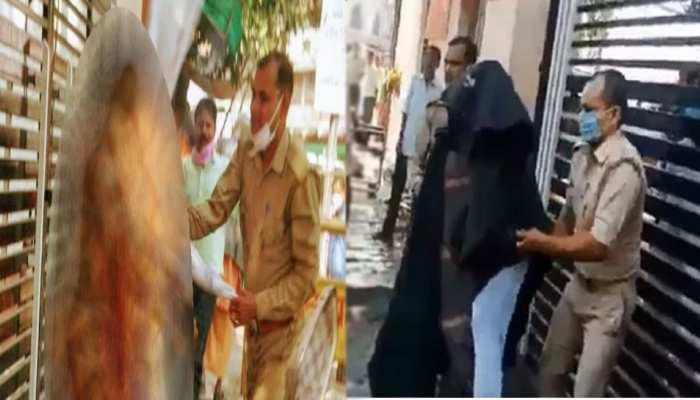 VIDEO: यूपी विधानसभा के पास खुद को आग लगाने वाली महिला की इलाज के दौरान हुई मौत