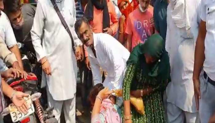 हनुमानगढ़: चैन चोरी के शक में भीड़ ने महिला को पीटा, आरोपी गिरफ्तार
