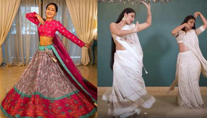VIDEO: युजवेंद्र चहल की मंगेतर धनश्री वर्मा ने नवरात्रि के मौके पर किया जबरदस्त डांस