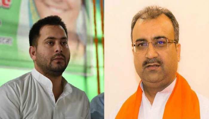 बिहार: मंगल पांडेय ने तेजस्वी पर साधा निशाना, बोले- CM की बहाली अब 2025 में होगी