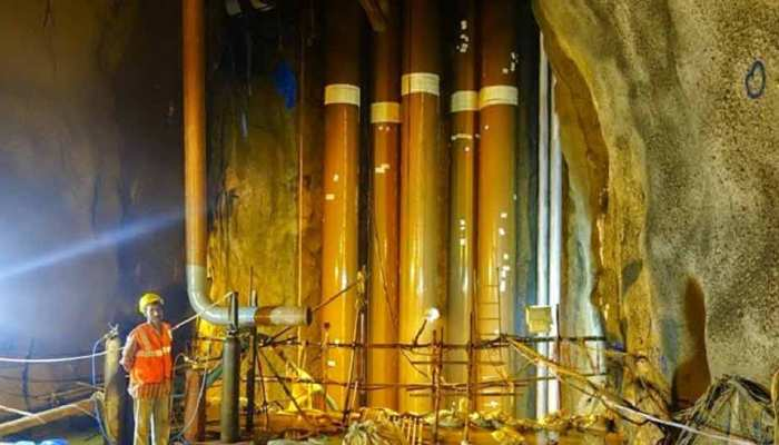 India stored millions of tons Crude Oil in these under ground caves