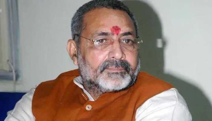 कांग्रेस नेता ने लगाया पार्टी पर जिन्ना समर्थक को टिकट देने का आरोप, गिरिराज बोले...