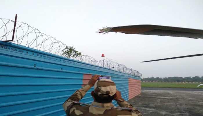 बाल-बाल बचे केंद्रीय मंत्री रविशंकर प्रसाद, पटना एयरपोर्ट पर हादसे का शिकार हुआ हेलिकॉप्टर