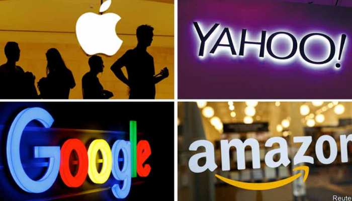 The world's largest Internet companies have changed so much in 20 years, see photos