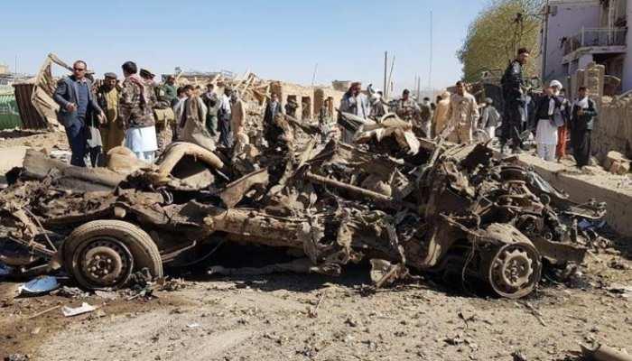 अफगानिस्तान: कार बम विस्फोट में 12 लोगों की मौत, सौ से अधिक जख्मी