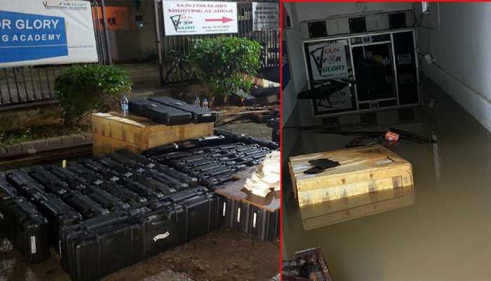 गगन नारंग के सपनों पर बारिश ने फेरा पानी, करोड़ों के उपकरण खराब