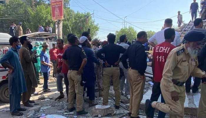 पाकिस्तान: चार मंजिला इमारत में जोरदार धमाका, 5 की मौत, कई ज़ख्मी
