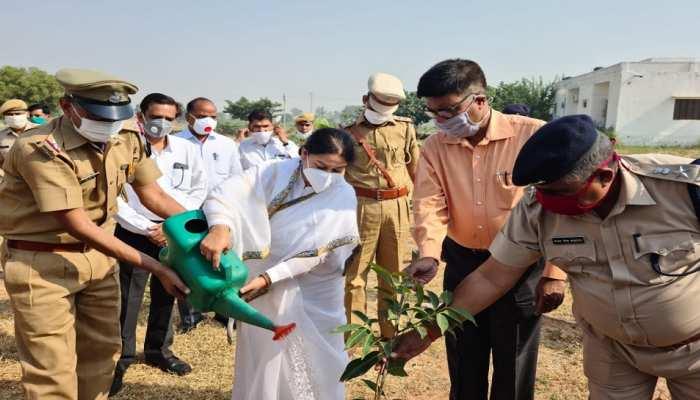 धौलपुर में मना पुलिस शहीद दिवस, शहीदों को दी गई श्रद्धांजलि