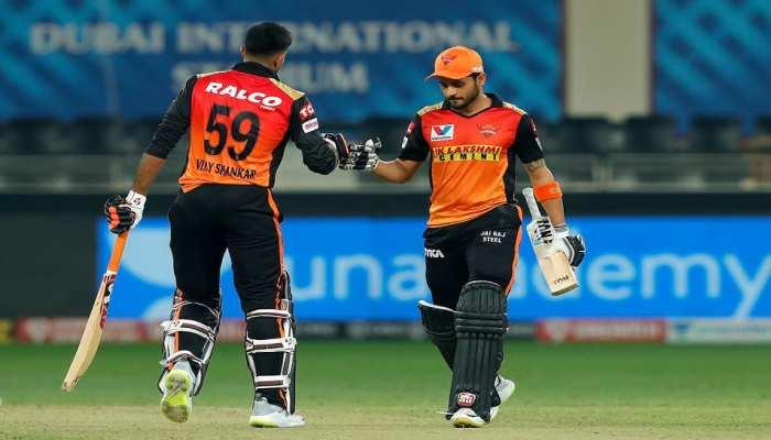 IPL-13: हैदराबाद ने राजस्थान को 8 विकेट से हराया, मनीष पांडेय-विजय शंकर चमके