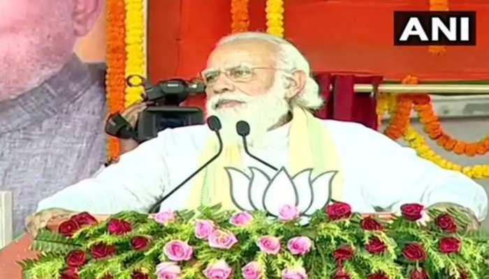 'वो कहते हैं कि जम्मू-कश्मीर में आर्टिकल 370 फिर लाएंगे', PM मोदी का विपक्ष पर निशाना