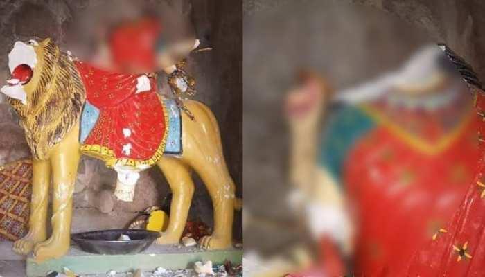 पाकिस्तान में मां दुर्गा की मूर्ति के साथ तोड़फोड़, नवरात्रों में कट्टरपंथियों ने की गिरी हरकत