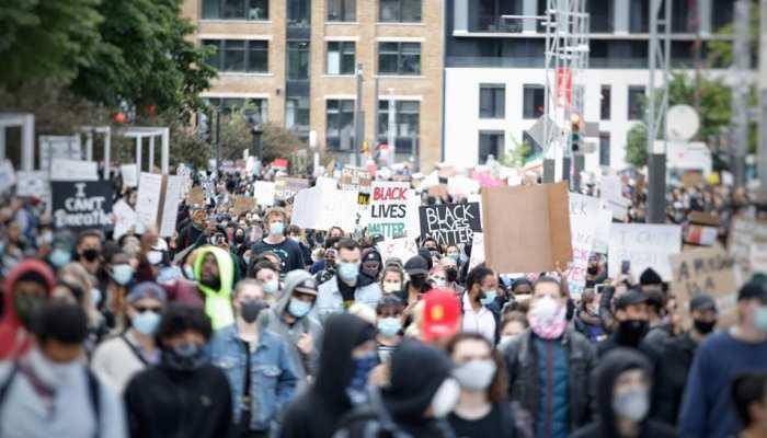 कनाडा में भारतीय समुदाय के लोगों का हल्लाबोल, विरोध में लगाए गए नारे