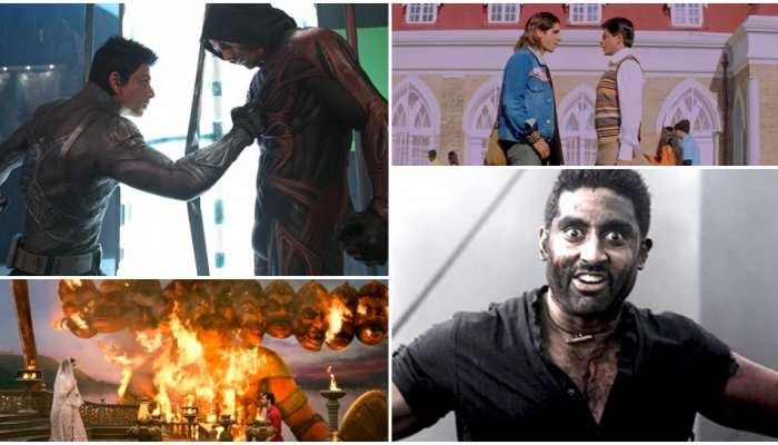 इन फिल्मों में कोई बना खूंखार राक्षस रावण तो किसी में दिखी राम की झलक
