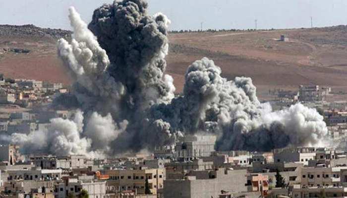 रूस ने की एयर स्ट्राइक, सीरिया में 50 से अधिक विद्रोही लड़ाके मारे गये
