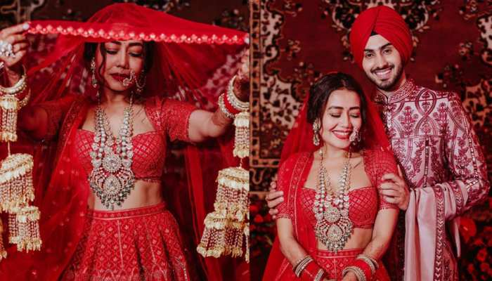 Neha Kakkar And Rohanpreet Singh Latest marriage photos