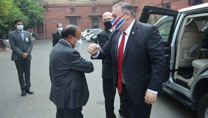 भारत-अमेरिका के बीच 2+2 वार्ता जारी, रक्षा और विदेश मंत्रियों के बीच चल रही है बात