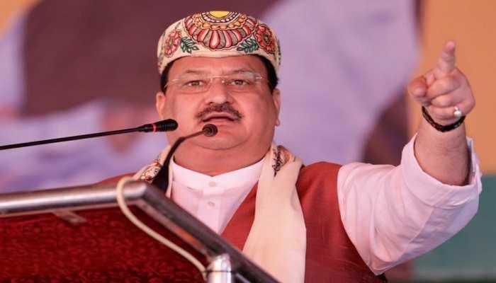 मधुबनी: नड्डा ने सोनिया-राहुल पर साधा निशाना, कहा- ये लोग देश विरोधी राजनीति करते हैं