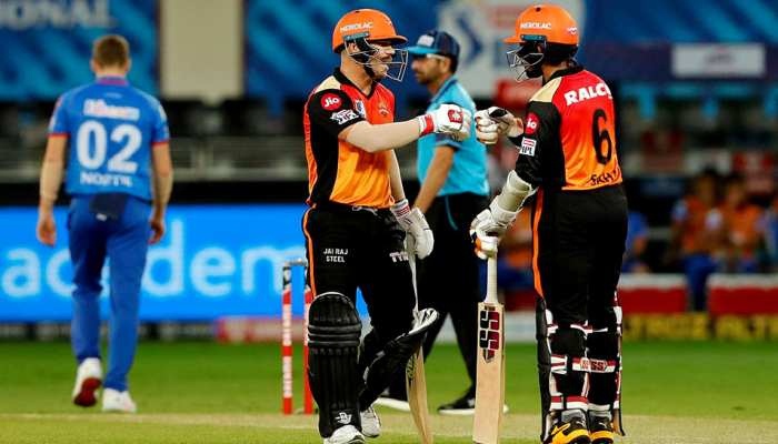 IPL 2020 SRH vs DC: Sunrisers Hyderabad vs Delhi Capitals, Full Match Reports in Pictures
