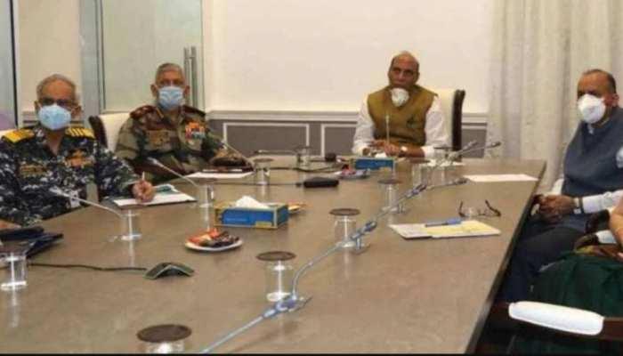 आर्मी कमांडर कॉन्फ्रेंस में राजनाथ सिंह का चीन को संदेश, भारत अपनी हर इंच जमीन की रक्षा करेगा