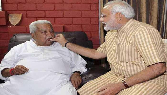 नहीं रहे गुजरात के पूर्व मुख्यमंत्री केशुभाई पटेल, 92 साल की उम्र में निधन