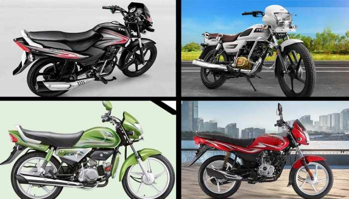 Bikes under Rs 60000 in India, Hero, Bajaj, Honda and TVS