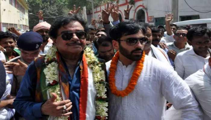 बेटे लव सिन्हा के लिए चुनावी प्रचार में जोश के साथ जुटे 'शॉटगन', CM पर साधा निशाना