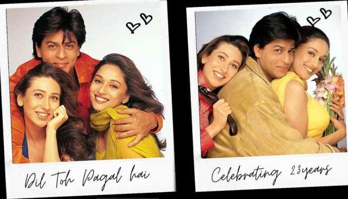 23 years of 'Dil To Pagal Hai': करिश्मा कपूर और माधुरी दीक्षित ने शेयर की PHOTOS