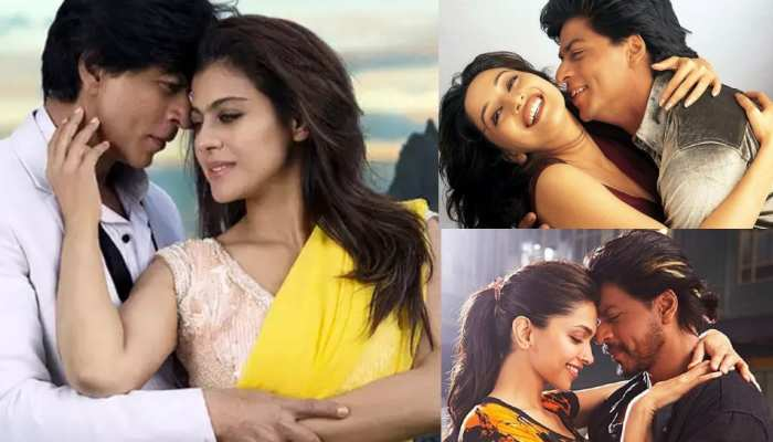 See the list of Sharukh Khan best on screen jodi in Bollywood