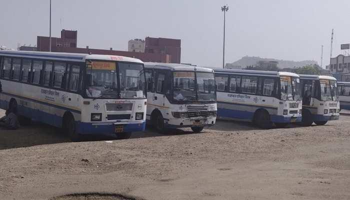 गुर्जर आरक्षण आंदोलन: इस रुट पर राजस्थान रोडवेज का संचालन बंद, 500 बसों के पहिये थमे
