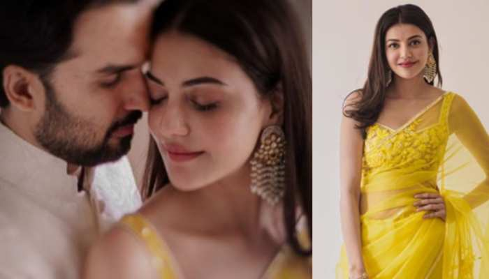 Kajal Aggarwal romantic photoshoot with husband went viral on internet