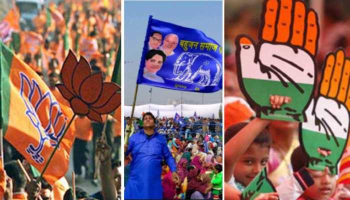 चुनाव प्रचार में BJP से कोसों पीछे रही कांग्रेस, कमलनाथ से ज्यादा शिवराज ने बहाया पसीना