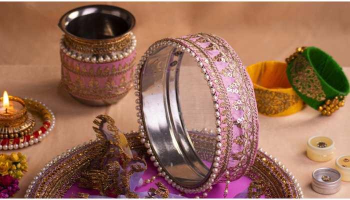 karwa chauth puja thali significance