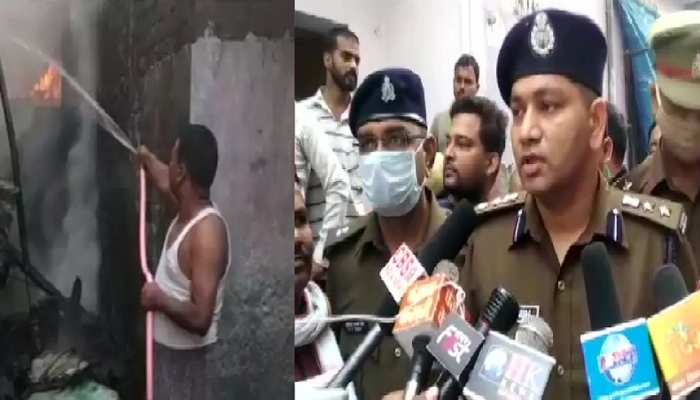 Uttarpradesh: कुशीनगर की अवैध पटाखा फैक्ट्री में आग लगने से 3 लोग जिंदा जले
