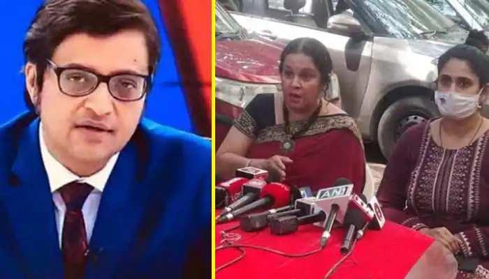 खुदकुशी करने वाले डिजाइनर की बीवी और बेटी आई सामने, अर्नब पर लगाए संगीन आरोप