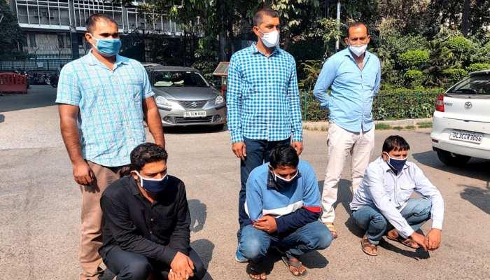 फर्जी वेबसाइट बनाकर 27 हजार लोगों से की करोड़ों की ठगी, 5 गिरफ्तार