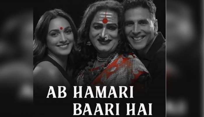 akshay kumar promoting Laxmii in different style Ab meri baari hai is trending