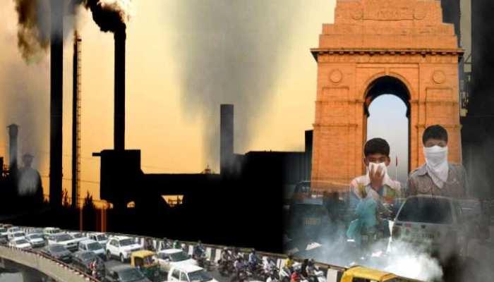 प्रदूषण से दिल्ली का घुट रहा है दम