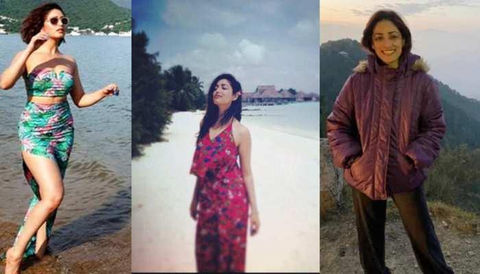 See the photos of Yami Gautam adventurous journey