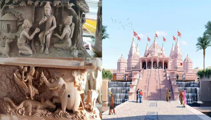 intricate carvings for abu dhabis first hindu temple take shape in india UPPP
