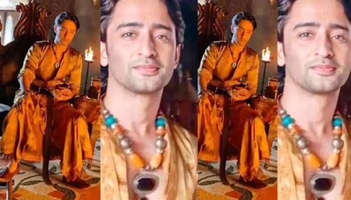 Shaheer Sheikh look viral from Paurushpur in prince avatar