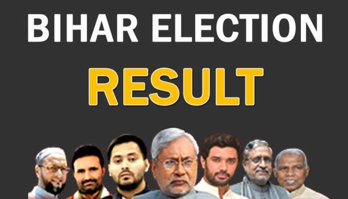 Bihar Election Result :  आधी रात को हुआ बिहार का फैसला, NDA को 125, महागठबंधन 110 सीटें
