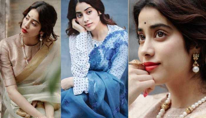 Janhavi Kapoor Retro look set internet on fire these day