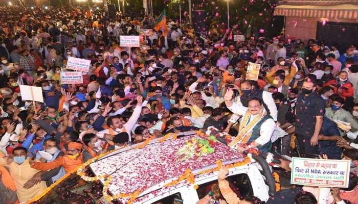 BJP के नए 'चाणक्य' बनकर उभरे जेपी नड्डा, बिहार में कुछ इस तरह पलटी बाजी!