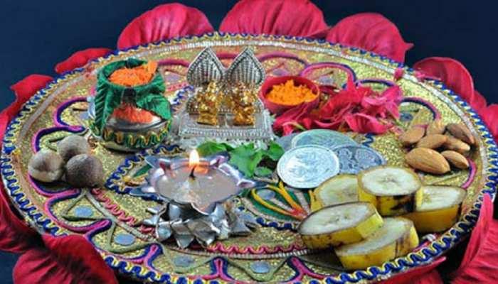 Diwali Puja: इन चीजों से सजाएं दिवाली पूजन की थाली, मां लक्ष्मी का बना रहेगा आशीर्वाद