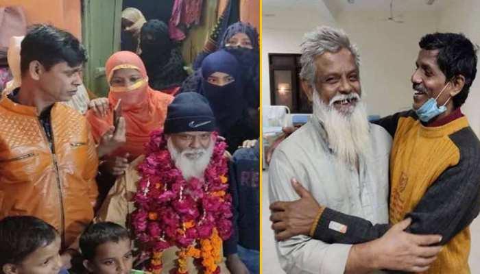 28 साल बाद पाकिस्तान से लौटे पिता को देखकर रोते-रोते बेहोश हो गई बेटी