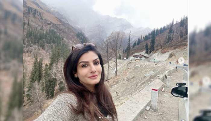 हिमाचल में सर्दियों का लुत्फ उठा रही हैं Raveena Tandon, शेयर की खूबसूरत फोटोज