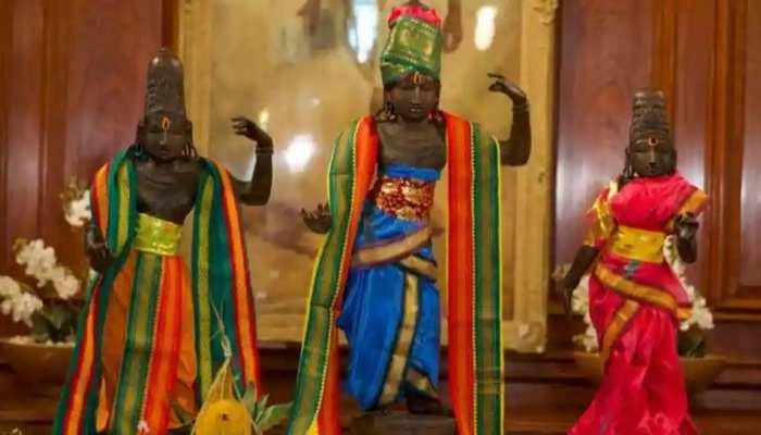 20 साल पहले चोरी हुई थीं श्रीराम, लक्ष्मण और मां सीता की मूर्तियां, अब ब्रिटेन से पहुंचीं भारत